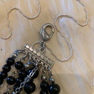 Fashion Jewelry Jewelry - Fashion Necklace! Black 7 strands beads.